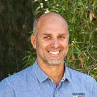 Headshot of Matias Besasso owner of Rising Sun Solar Hawaii
