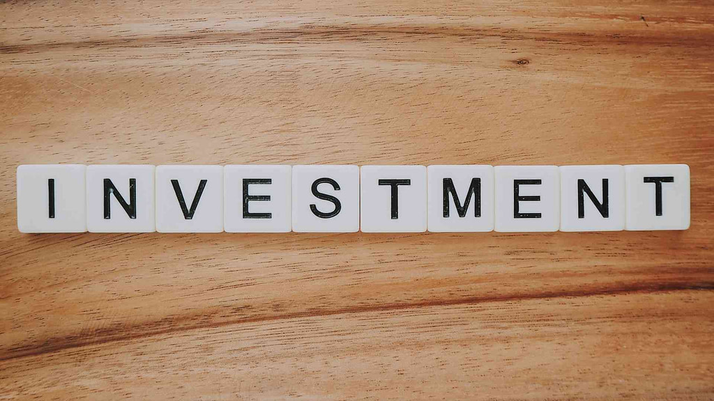 Investment blocks on a table