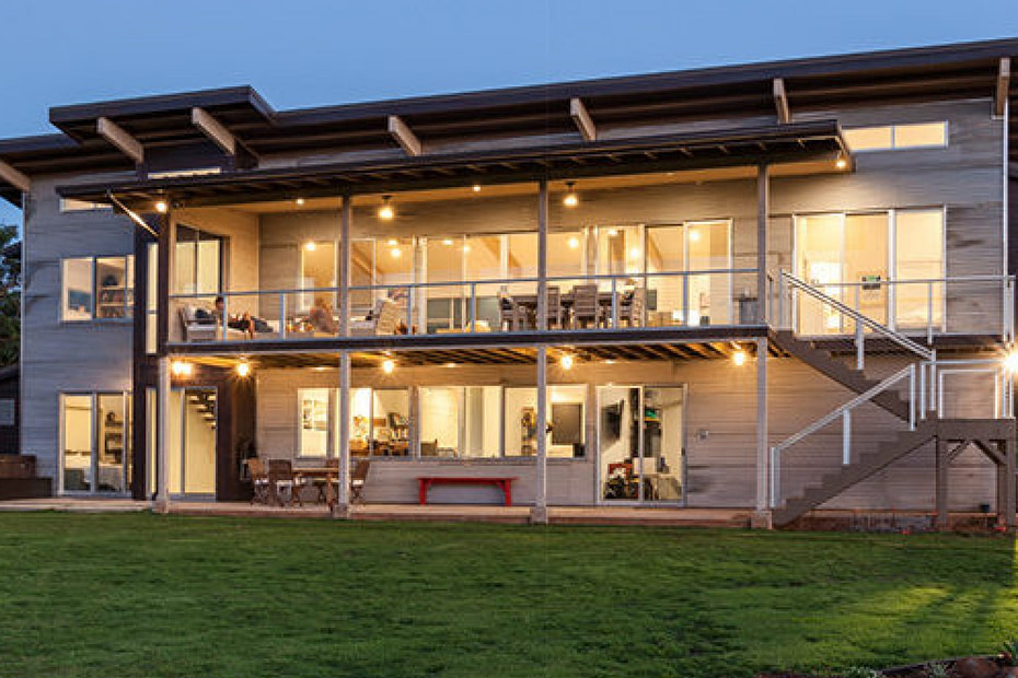 featured image of a rising sun solar home project